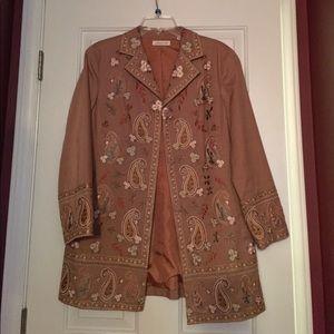 Ladies Embroidered Jacket S 14P