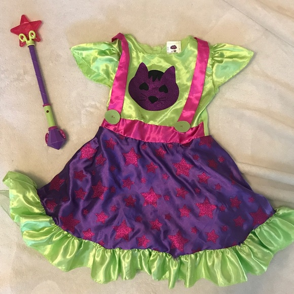 rubies Other - Little Charmers Hazel dress & wand- for halloween!