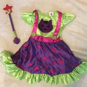 Little Charmers Hazel dress & wand- for halloween!