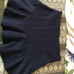 Sugarlips Navy Blue Skirt SIZE MEDIUM