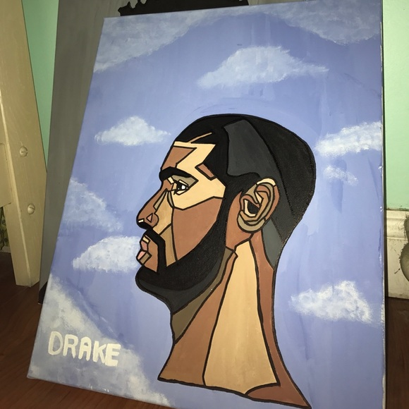 DRAKE NOTHING WAS THE SAME ALBUM PAINTING NWT