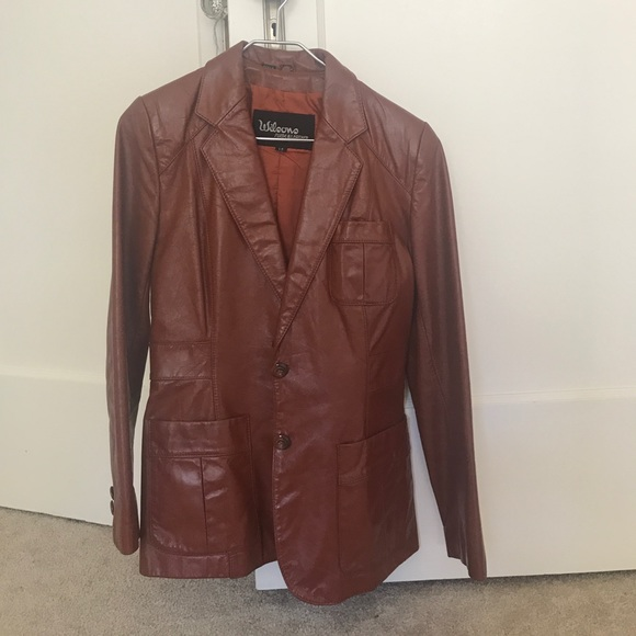 3179a726a Wilson suede and leather brand leather jacket