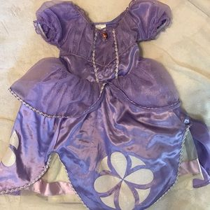 Sofia the First Disney Store costume! Halloween!