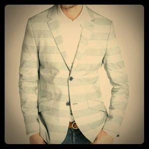 HOWE Personal Jesus Horizontal Stripe Blazer