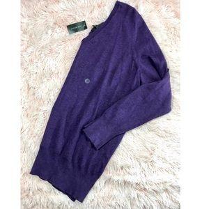 {Lane Bryant} purple Scoop Neck sweater thin 18/20