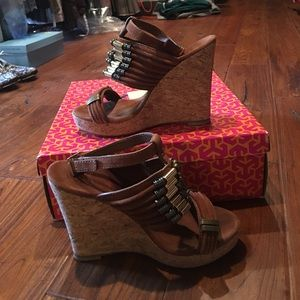 """Tory Burch """"Tricia"""" Wedges"""
