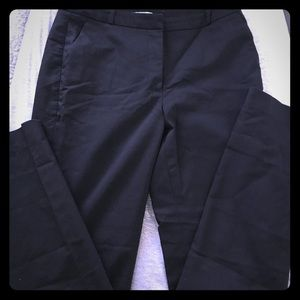 Black work slacks