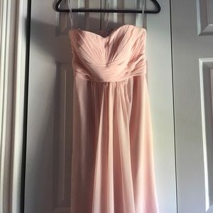 David bridal bridesmaid dress