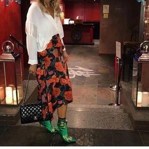 Zara Green boots