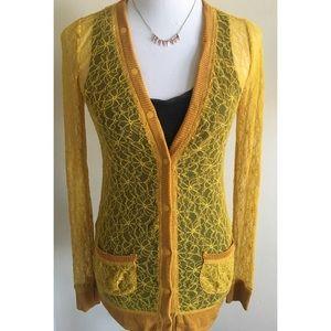 Sale⚡️Rodarte for Target Marigold Lace Cardigan