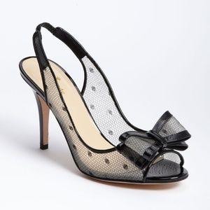 Kate Spade Carline Slingback Heels - size 7