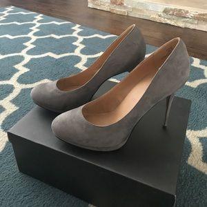 Grey JustFab stilettos