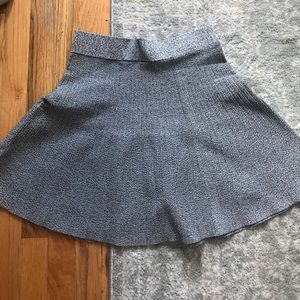 Club Monaco tweed circle sweater skirt