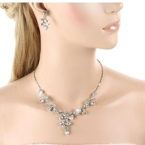 Jewelry - Wedding necklace and earring set