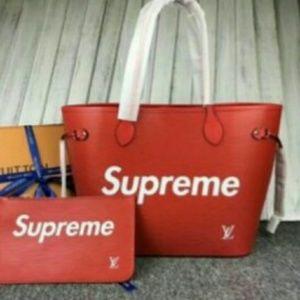 LV Supreme hand bag