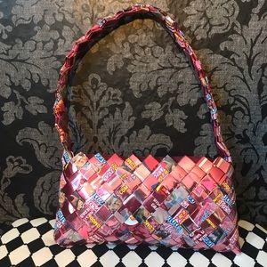 NWOT Marinela Suavicremas Candy Wrapper Purse