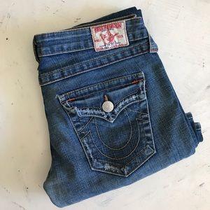 Authentic true religion flare jeans
