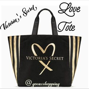 Victoria's Secret LOVE Tote Limited Edition NEW