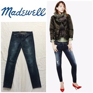 Madewell Distressed Skinny Jeans 👖
