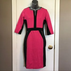 Homeyee 3/4 Sleeve Dress