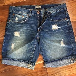 Gap Boyfriend style denim bermuda shorts