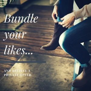 Other - Bundle your likes to receive your own offer!