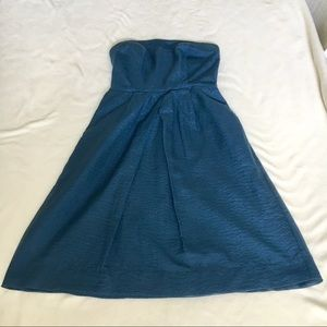 Strapless J. Crew Dress