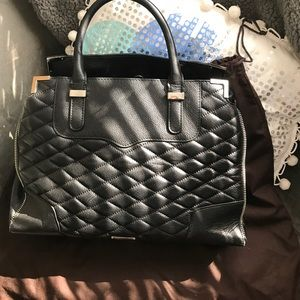 Quilted Rebecca Minkoff Amorous Satchel.