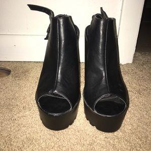 High Platform & heel