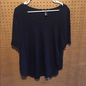 H&M Scoop neck 3/4 Length Shirt