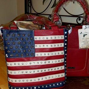Montana West Americana concealed bag