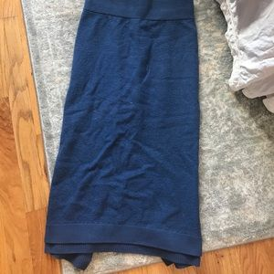 Club Monaco wool tube skirt