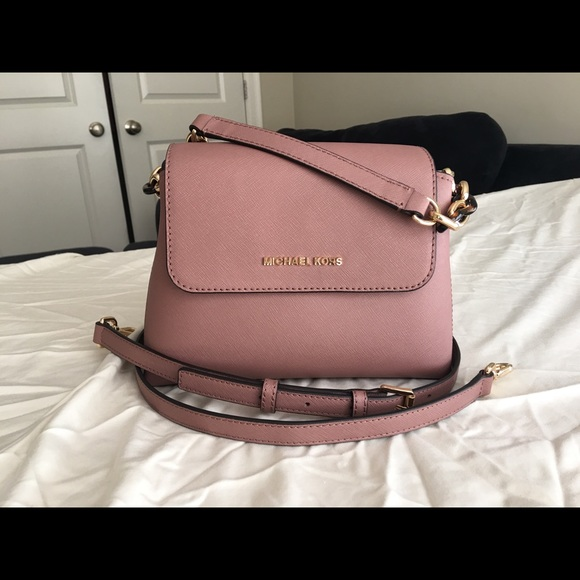 Michael Kors Handbags - Michael Kors Dusty Rose Portia