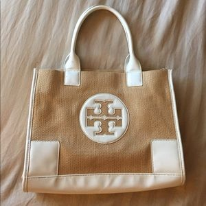 Authentic Tory Burch small Tote great condition