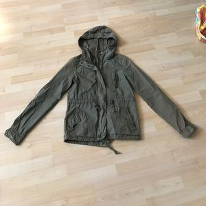 H & M Divided Size 4 Army Jacket