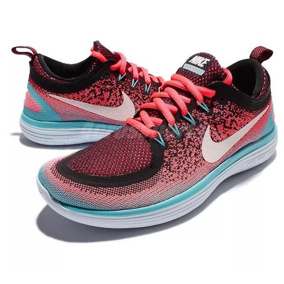 bf6c32009fde Nike Free Run Distance 2 shoes women s pink black