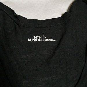 14th & Union Tops - 14th &Union scoop neck pocket t