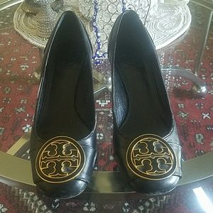 Tory Burch black heel