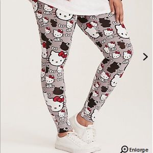Torrid Hello Kitty leggings
