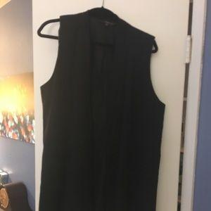 Target brand long vest