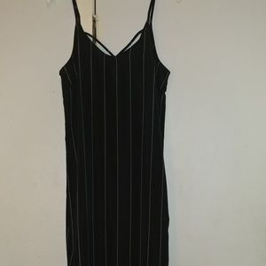 Wet Seal Pin Striped Maxi Dress