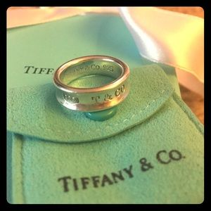 Tiffany & Co. 1837 sterling silver ring.