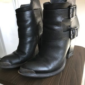 Calvin Klein hardware boots
