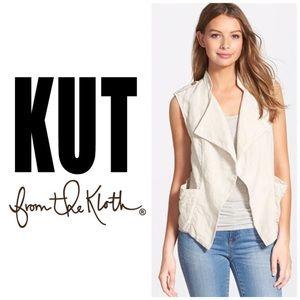 Kut from the Kloth Linen Vest