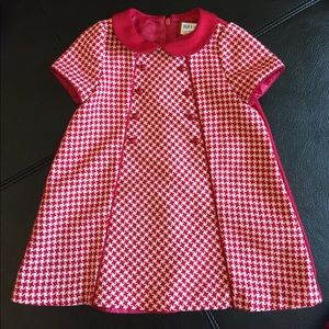 Luli & Me Dresses - Red and white dress