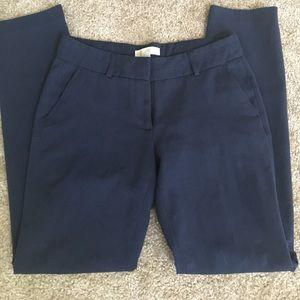 Navy Straight leg/skinny pants from MK