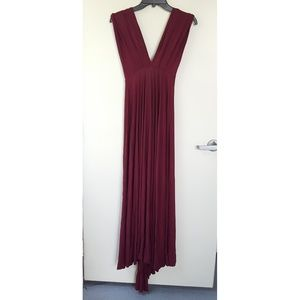 Lulu's Long Convertable Dress