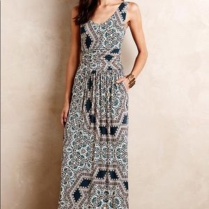 "Anthropologie Maeve ""Jantina"" maxi dress"