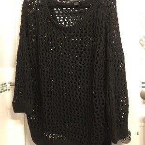Lane Bryant Crochet Sweater 22/24