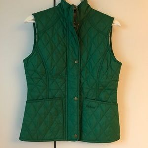 Barbour Liddesdale quilted vest - green - small